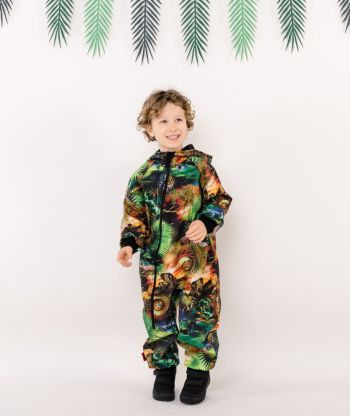 Waterproof Softshell Overall Comfy Safari Jumpsuit
