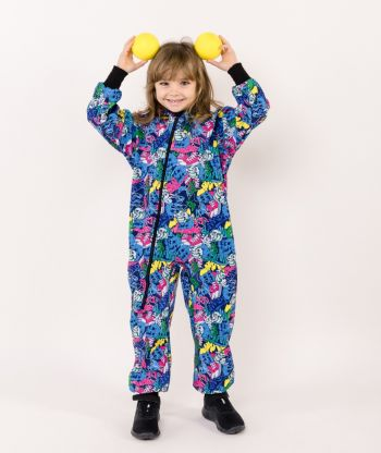 Waterproof Softshell Overall Comfy Scary Clowns Jumpsuit