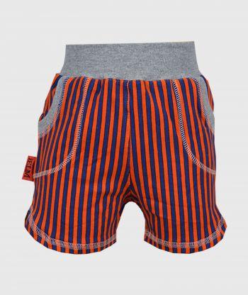 Short Pants Stripes Orange