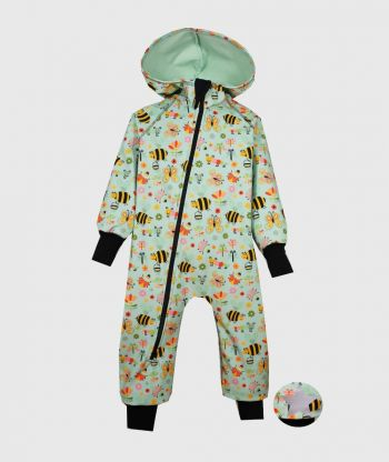 Waterproof Softshell Overall Comfy Isects World Jumpsuit