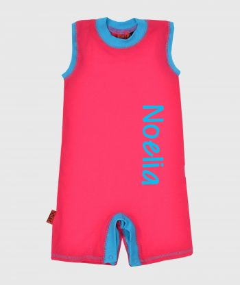 Summersuit Lushes Pink/Blue