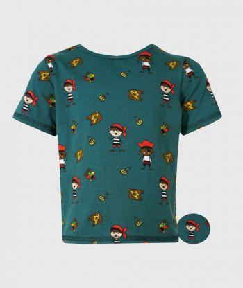 T-shirt Pirates Green